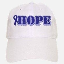 Purple Hope Ribbon Baseball Baseball Cap