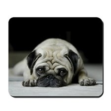 Sad Pug Mousepad