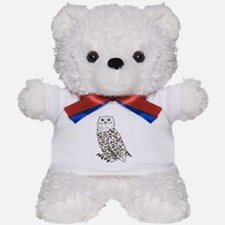 Snowy Owl Teddy Bear