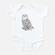 Snowy Owl Infant Bodysuit