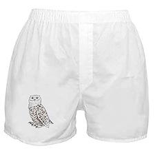 Snowy Owl Boxer Shorts