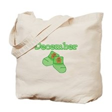 Baby Socks December Tote Bag