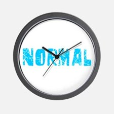 Normal Faded (Blue) Wall Clock