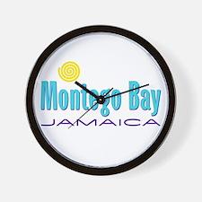 Montego Bay - Wall Clock