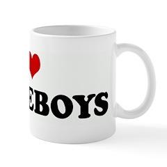 I Love WHITEBOYS Mug