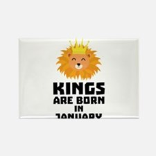 Kings are born in JANUARY C4z2d Magnets