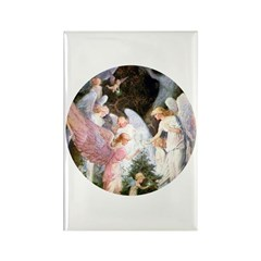 CHRISTMAS ANGELS Rectangle Magnet (100 pack)