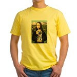 Mona Lisa's Schnauzer Puppy Yellow T-Shirt