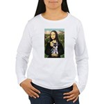Mona Lisa's Schnauzer Puppy Women's Long Sleeve T-