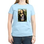 Mona Lisa's Schnauzer Puppy Women's Light T-Shirt