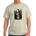 Mona Lisa's Schnauzer Puppy Light T-Shirt