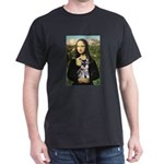 Mona Lisa's Schnauzer Puppy Dark T-Shirt