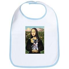 Mona Lisa's Schnauzer Puppy Bib