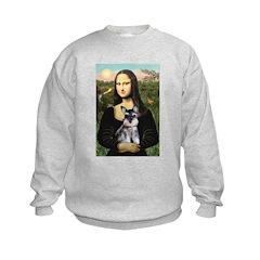 Mona Lisa's Schnauzer Puppy Sweatshirt