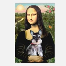 Mona Lisa's Schnauzer Puppy Postcards (Package of