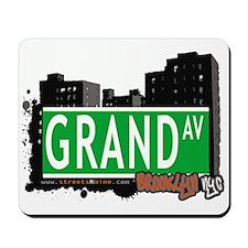 GRAND AV, BROOKLYN, NYC Mousepad