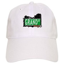 GRAND AV, BROOKLYN, NYC Baseball Cap