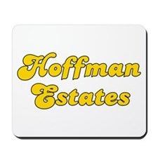 Retro Hoffman Esta.. (Gold) Mousepad