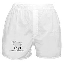 Baaa Means No! Boxer Shorts
