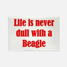Life is never dull Rectangle Magnet (10 pack)