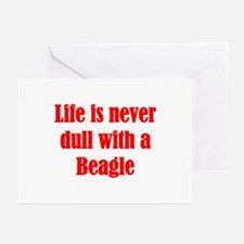 Life is never dull Greeting Cards (Pk of 10)
