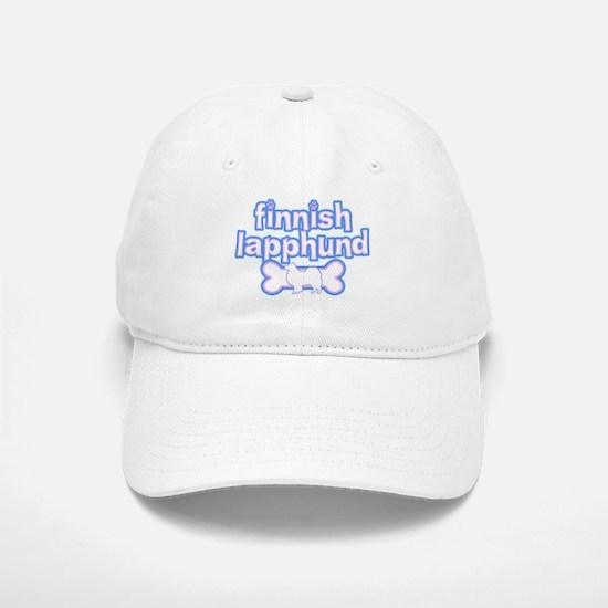 Powderpuff Finnish Lapphund Baseball Baseball Cap