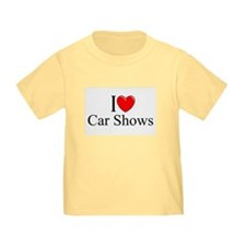 """I Love (Heart) Car Shows"" T"