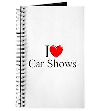 """I Love (Heart) Car Shows"" Journal"