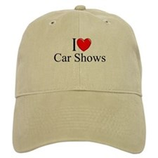 """I Love (Heart) Car Shows"" Baseball Cap"