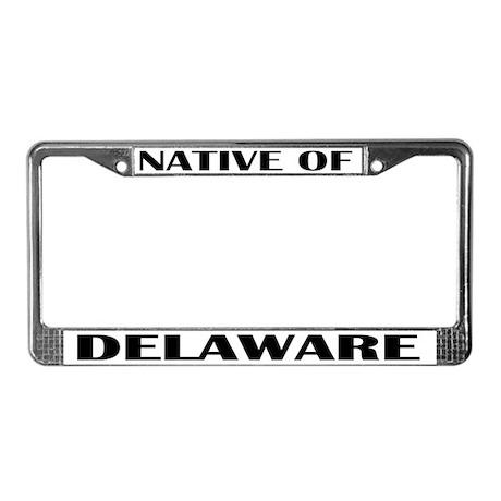 Delaware License Plate Frame