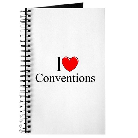 """""""I Love (Heart) Conventions"""" Journal"""