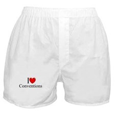 """I Love (Heart) Conventions"" Boxer Shorts"