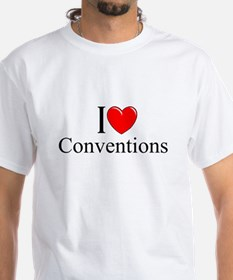 """I Love (Heart) Conventions"" Shirt"