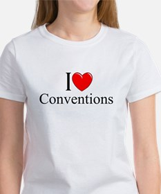 """""""I Love (Heart) Conventions"""" Tee"""