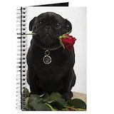 Pug Journals & Spiral Notebooks