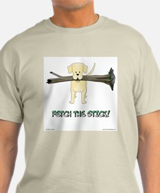 Labrador - Fetch The Stick! T-Shirt