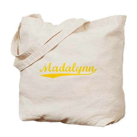 Vintage Madalynn (Orange) Tote Bag