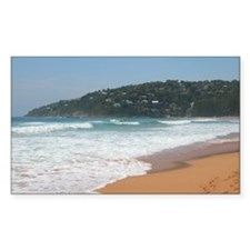 Palm Beach Surf, Sydney NSW Rectangle Decal