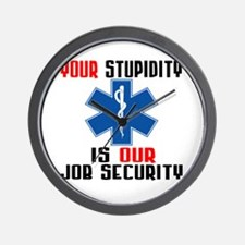 Your Stupidity Wall Clock