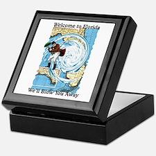 Hurricane Dennis Keepsake Box