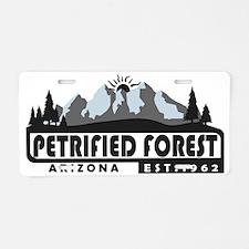 Petrified Forest - Arizona Aluminum License Plate
