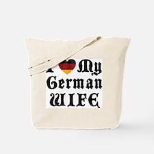 I Love My German Wife Tote Bag