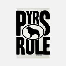 Pyrs Rule Rectangle Magnet