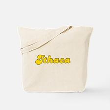 Retro Ithaca (Gold) Tote Bag
