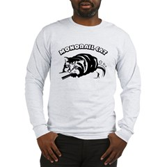 MONORAIL CAT - Long Sleeve T-Shirt