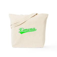 Retro Ximena (Green) Tote Bag