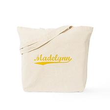 Vintage Madelynn (Orange) Tote Bag