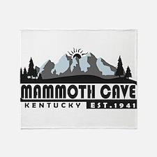 Mammoth Cave - Kentucky Throw Blanket