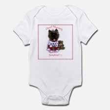 Cairn Terrier Good Morning Infant Bodysuit