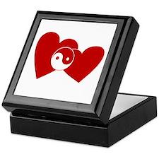 Ying Yang Hearts Keepsake Box